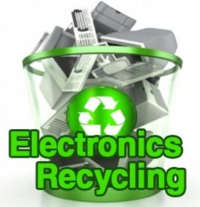 Free Small Electronics Amp Tires Recycling Drop Off Event