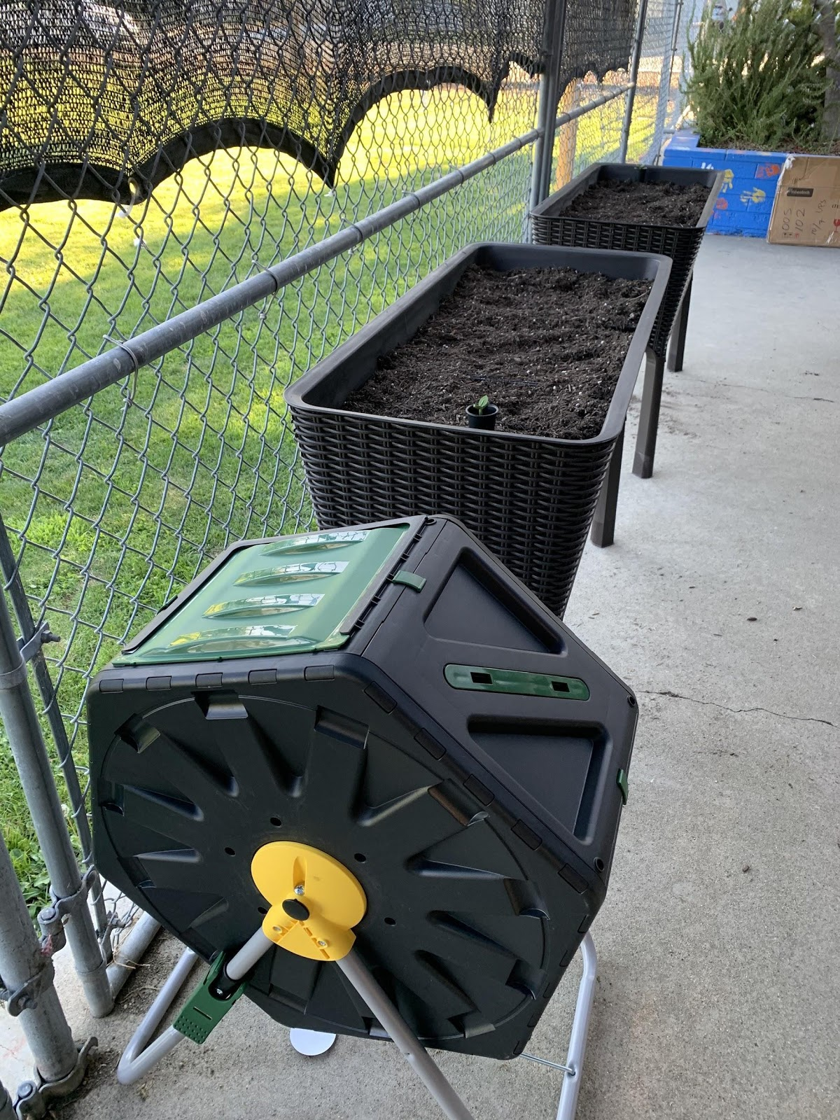 Compost Bins Installed At School Garden