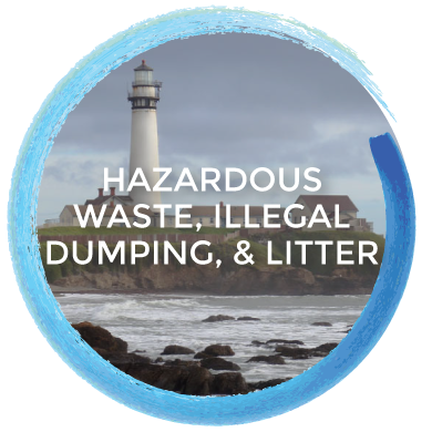 Hazardous Waste, Illegal Dumping & Litter
