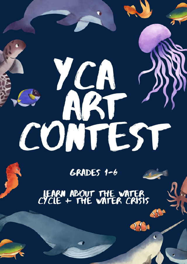 YCA Art Contest Flier
